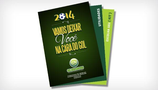 Folder Promocional, Cia dos Novos